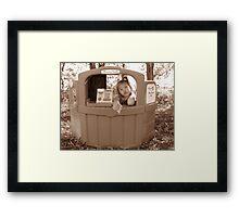 Kissing Booth Framed Print