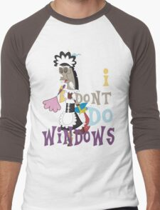 Discord - I Don't Do Windows Men's Baseball ¾ T-Shirt
