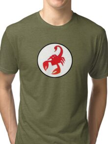 Red Scorpion Tri-blend T-Shirt