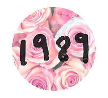 1989 (Floral) Photographic Print