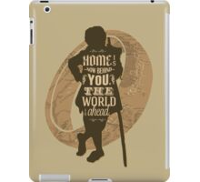 Home Is Now Behind You iPad Case/Skin