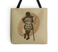 Home Is Now Behind You Tote Bag