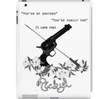 Rickyl ~ The Walking Dead iPad Case/Skin