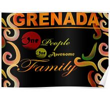 I Love Grenada The Isle of Spice Poster