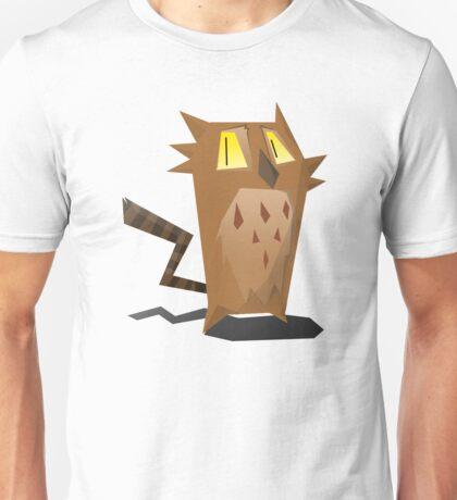 Raccoon Owl Unisex T-Shirt