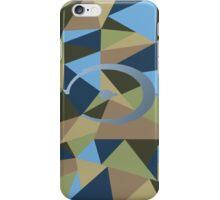 Halo polygon iPhone Case/Skin