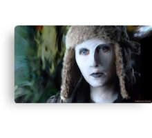 Yewll in her Snuggly Winter Hat Canvas Print