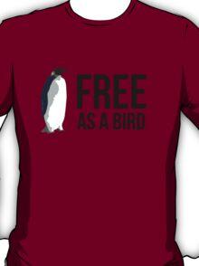 Free As A Bird (Black Ink) T-Shirt