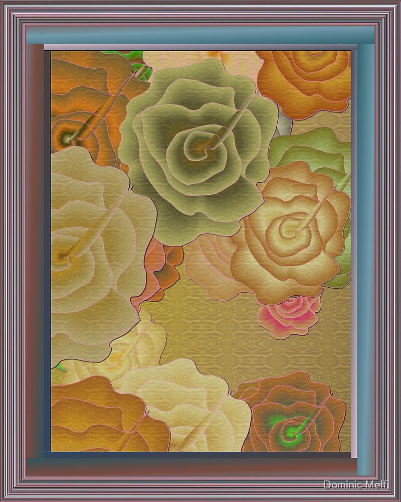 Rose Framed 2007-10-10 by Dominic Melfi