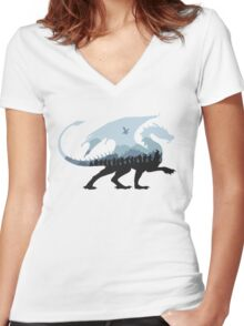 An Unexpected Journey Women's Fitted V-Neck T-Shirt