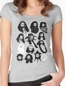 In the Company of Dwarves Women's Fitted Scoop T-Shirt