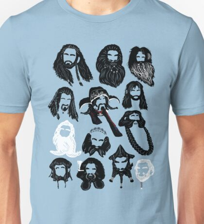 In the Company of Dwarves Unisex T-Shirt