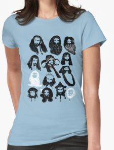In the Company of Dwarves Womens Fitted T-Shirt