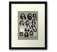 In the Company of Dwarves Framed Print