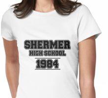 SHERMER HIGH SCHOOL - 1984 Womens Fitted T-Shirt