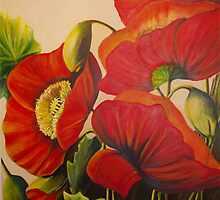 Poppy Splendor by Eileen Kasprick