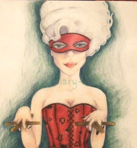 Marionette woman by Mazy