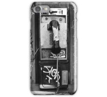 Phone Booth - New Orleans, LA iPhone Case/Skin