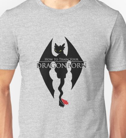 How to Train Your Dragonborn Unisex T-Shirt