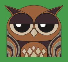 UNDERSTANDING OWL PORTRAIT Kids Tee