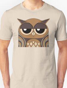 UNDERSTANDING OWL PORTRAIT Unisex T-Shirt