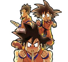 Eat like a saiyan by Camilo Montalvo