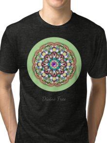 Divine Free Essence Mandala Tri-blend T-Shirt