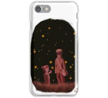 The grave of the fireflies iPhone Case/Skin