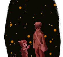 The grave of the fireflies by davidpavon