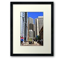 City of Colors VI - Hong Kong. Framed Print