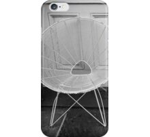 Two White Chairs - New Orleans, LA iPhone Case/Skin
