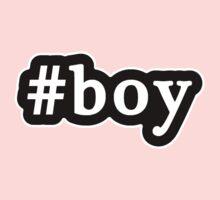 Boy - Hashtag - Black & White Kids Clothes