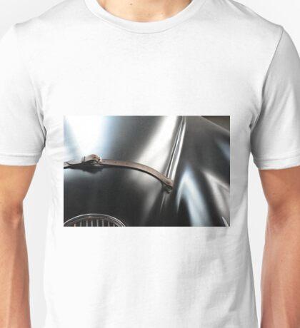 Shining elegant car black hood with belt Unisex T-Shirt
