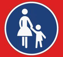 Sonderweg für Fußgänger. by IMPACTEES