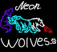 Neon Wolves by Shadowwolf31