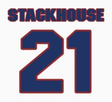 National Hockey player Ron Stackhouse jersey 21 by imsport