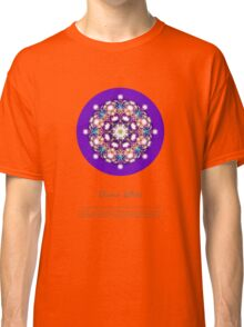 Divine Whee Essence Mandala with description Classic T-Shirt