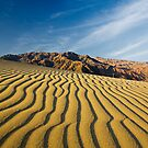 Sand and Mountains- California by morealtitude