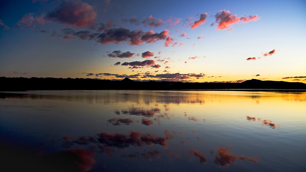 Lakes Sunset by morealtitude