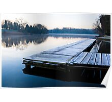 Frosty Coate Water Poster