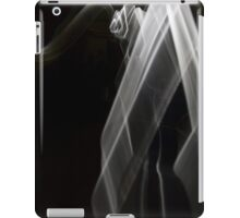 white light painting iPad Case/Skin