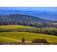 High Country Hills Photographic Print