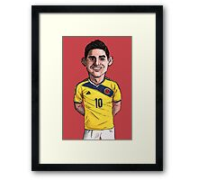 James World Cup Framed Print