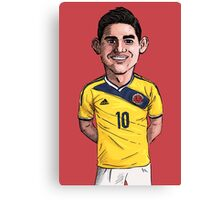 James World Cup Canvas Print