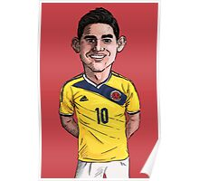 James World Cup Poster