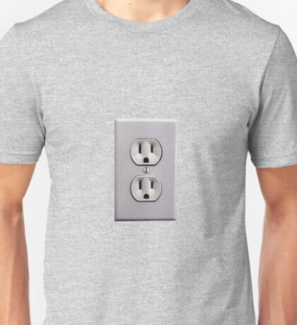 Electric Wall Outlet Unisex T-Shirt