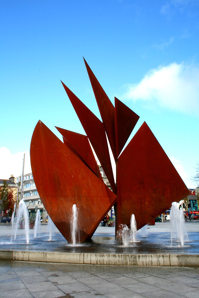 eyre square, galway by ghenadie