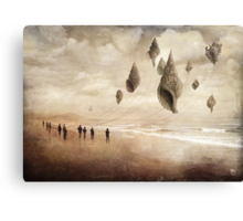 Floating Giants Canvas Print