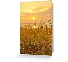 Sunset at Montague Beach Greeting Card