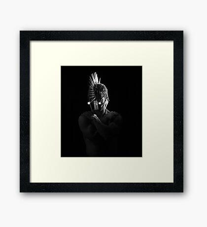 A Spartan Future Framed Print